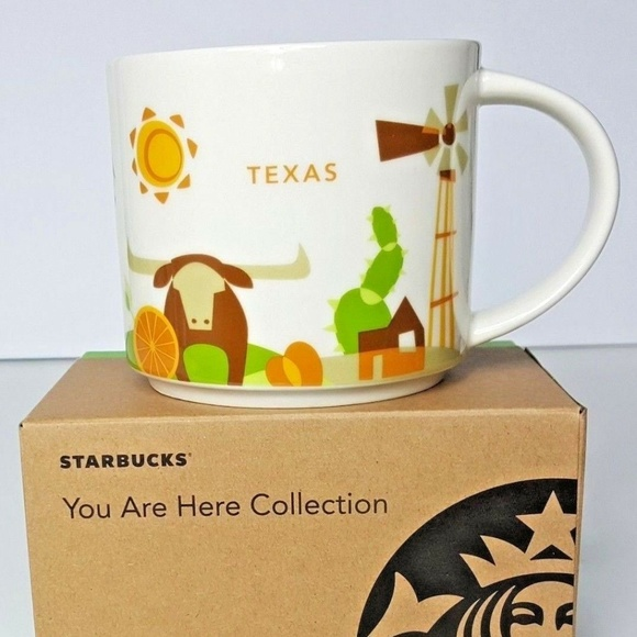 Retired Collection Nwt Starbucks Texas State Mug nOvwyN80m